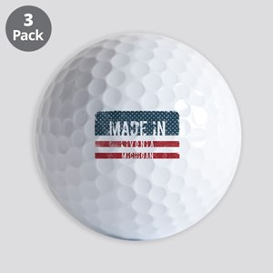 Made in Livonia, Michigan Golf Balls