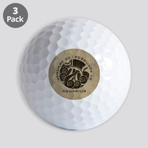 Vintage Aquarius Golf Balls