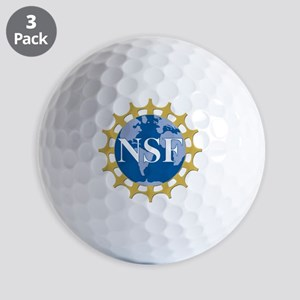 National Science Foundation Crest Golf Balls