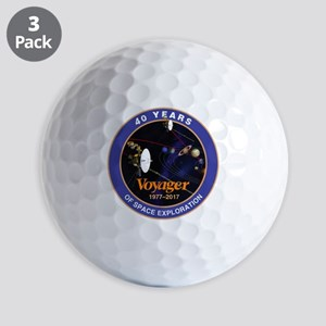 Voyager At 40! Golf Balls