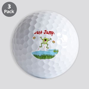 Just Jump Golf Ball