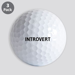 Introvert Golf Ball
