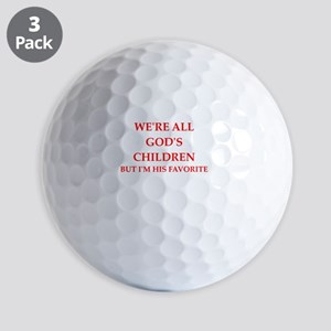 god Golf Ball