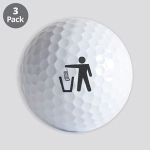 "Anti-Cell Phone - ""Pitch In"" Golf Balls"