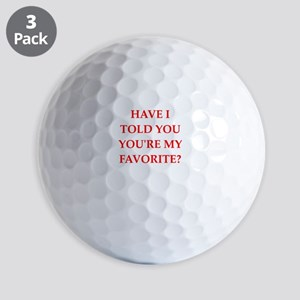 favorite Golf Ball