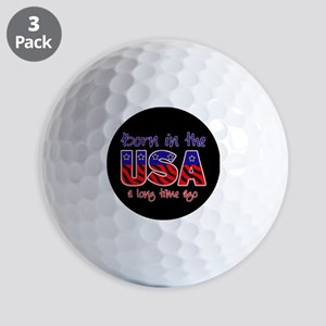 born in the USA Golf Balls