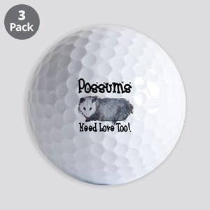 possum33 Golf Balls