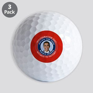 Obama Inauguration Day Golf Balls