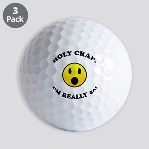 50th Birthday Gag Gift Golf Balls
