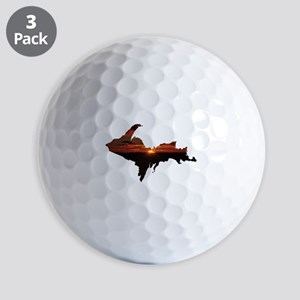 U.P. Sunrise Golf Ball