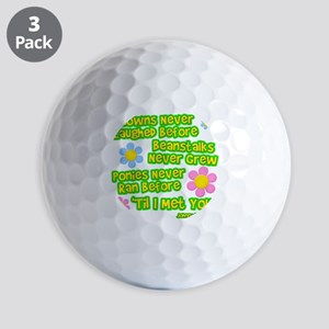 Clowns Never Laughed Before Golf Balls