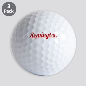 Remington, Vintage Red Golf Balls