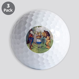The Lion and The Unicorn Golf Balls