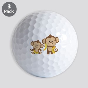 Little Monkeys Golf Balls