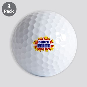 Remington the Super Hero Golf Ball