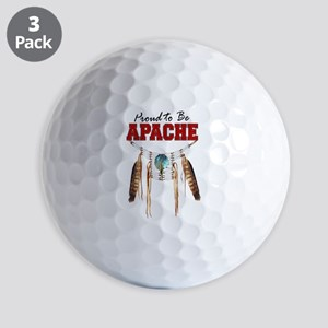 Proud to be Apache Golf Balls