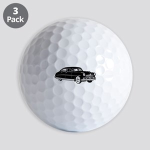 Fifties Classic Car Golf Balls