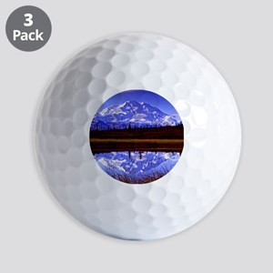 Mt. McKinley in Fall Golf Balls
