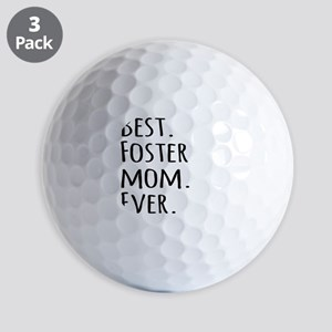 Best Foster Mom Ever Golf Balls