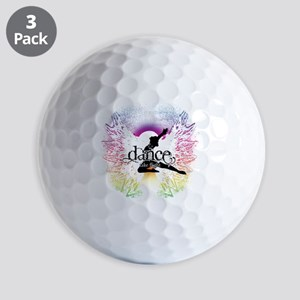 Dance Take Flight the Colors Golf Ball