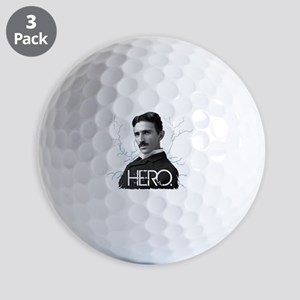 HERO. - Nikola Tesla Golf Ball