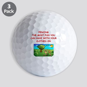 FENCING Golf Ball