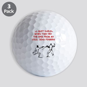 FENCING2 Golf Ball