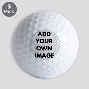 Custom Add Image Golf Balls