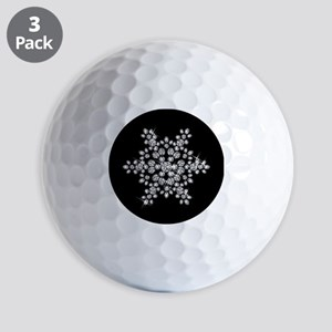 DIAMOND SNOWFLAKE Golf Balls