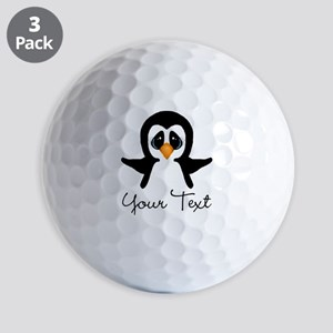 Personalizable Penguin Golf Ball
