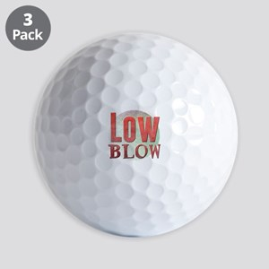 Low Blow Golf Balls