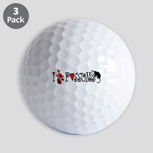 lovepossums2 Golf Balls