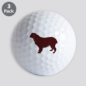BS silhouette color Golf Ball