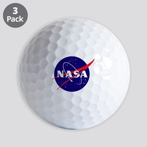 NASA Meatball Logo Golf Balls