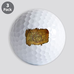 charmed invoking spell Golf Ball