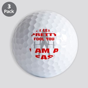 blk_pretty_fool_you_beast Golf Balls