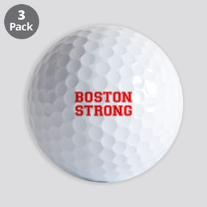 boston-strong-car-red Golf Ball