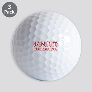 knit-happens-KON-RED Golf Ball