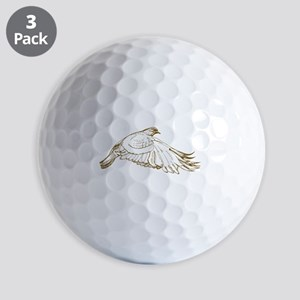 White Pigeon Golf Ball