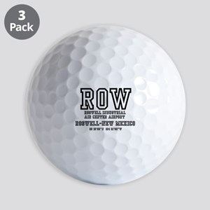 AIRPORT CODES - ROW - ROSWELL, NEW MEXI Golf Balls