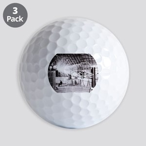 Nikola Tesla Golf Ball