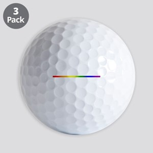 PRIDE STRIPE Golf Balls