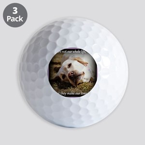 Make Our Lives Whole Golf Balls