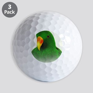 Male Eclectus Golf Balls