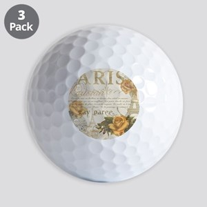 Vintage Paris Golf Balls