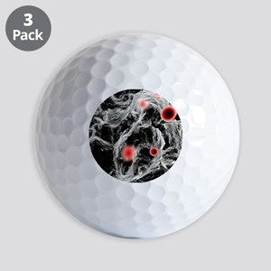 FAST-ACT toxin-destroying powder, artwo Golf Balls