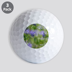Be still Golf Balls