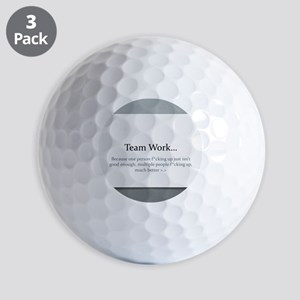 Team Work Golf Balls