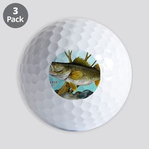 Walleye Golf Balls