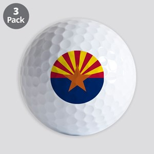 ARIZONA STATE FLAG Golf Balls